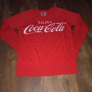 Coca-cola ladies sweater